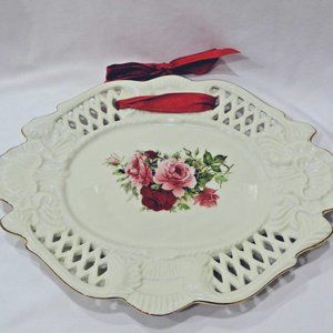 Formalities by Baum Brothers Victorian Rose tray